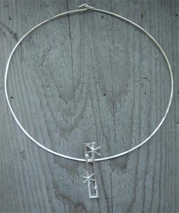 iskristall halsband